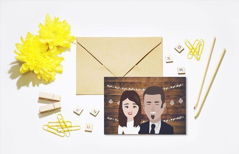 Invitaciones de boda verbena