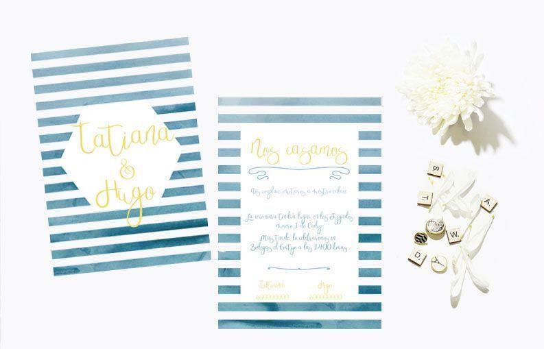 Invitaciones de boda Horizonte